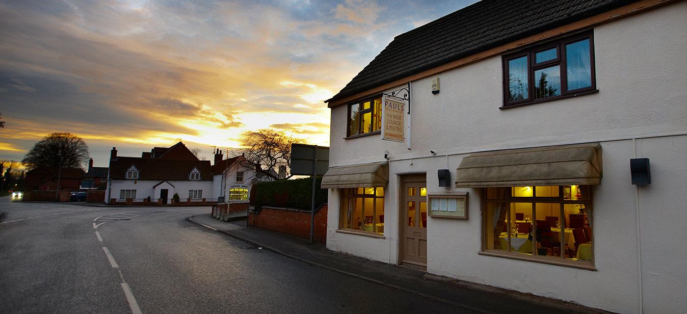 Bottesford Restaurant - Pauls